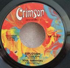 """Soul Survivors Crimson 1012 """"EXPLOSION IN YOUR SOUL"""" (SOUL) 45 SHIPS FREE"""