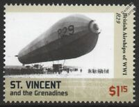 WWI Armstrong Whitworth RNAS R23X-Class Rigid Airship No.R29 Dirigible Stamp