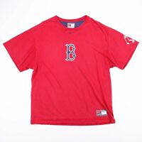 Vintage NIKE BOSTON RED SOX Red Sports T-Shirt Size Men's Large