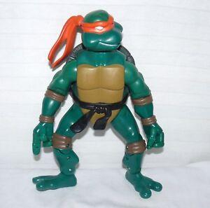 """Playmates Toys Teenage Mutant Ninja Turtle Michelangelo Orange 10"""" Action Figure"""