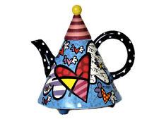 ROMERO BRITTO große Teekanne Kaffeekanne *flying heart*  1,7 L Teapot  - 20048 C