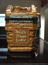McCoy Wish I Had A Cookie Wishing Well Cookie Jar USA Pottery GUC