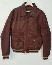 REPLAY Giubbino Pelle Teddy vintage 80' jacket leather REPLAY vintage 80""