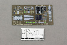Dreammodel 1/72 Color PE F-15E Cockpit Detail for Hasegawa 72010