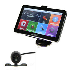 "7"" 4GB Car Truck GPS AV-IN Bluetooth Navigation Navigator Map+Wire Backup Camera"