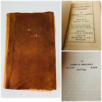 Antique Shakespeare Book ca.1899 Shakespeare's Country by Bertram Windle