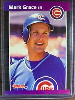 Mark Grace Baseball Card #255 Donruss Chicago Cubs MLB HOF Free Ship NM-MT