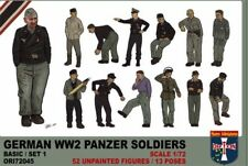 Orion 1/72 German Panzer Soldiers (WWII) # 72045