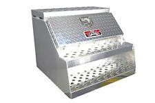 "30""  Brute  Semi Truck Tractor Step Box with Tool Box."