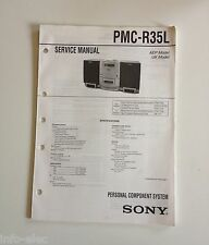 Schema SONY - Service Manual Personal Component System PMC-R35L  PMCR35L