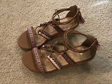 Justice sandals for girls, Size 5