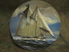 Great American Sailing Ships~ The America ~ Rosenthal,/Danbury Mint, Euc