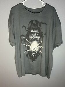 """Official WWE Bray Wyatt The Fiend """"Let Me In"""" Gray Graphic Print T-Shirt, 2XL"""