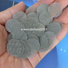 """100pcs 20mm (0.78"""")  Stainless Steel Pipe Screen Tobacco Smoke Screen Wholesale"""