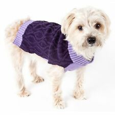 PetLife Central Oval Weaved Heavy Knitted Fashion Designer Dog Sweater