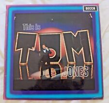 Tom Jones – This Is Tom Jones – Decca – LK 5007 – Mono LP Vinyl Record