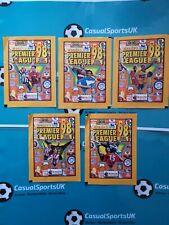 Merlin's Premier League 98  -X 5 Unopened Sticker Packets (All Designs) Rare