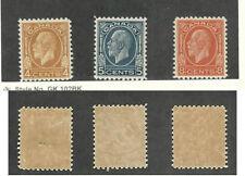 Canada, Affrancatura Francobollo, #198-200 come Nuovo Smaltata Gomma, 1932
