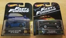Hot Wheels ~ Fast and Furious ~ '70 CHARGER R/T ~ NISSAN SKYLINE GTR (34) ~ LOT