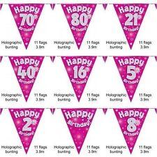 Guirnaldas de fiesta color principal rosa