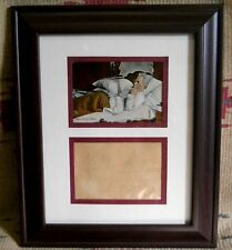 MARK TWAIN Autograph - framed in a Display * acquired from English Family