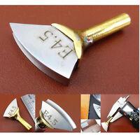 Leather Craft Electric heating Burn Edge Decorate Soldering Iron brass Tool DIY