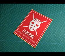 LOOPONE JSPIRITX OSAKA JDM PRODUCE KANJO 大阪 Car decal Reflective Sticker #25