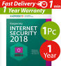 Kaspersky internet security 2018 ( 1 ) pc mac android ( 1 ) year  Worldwide