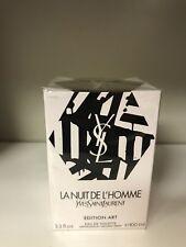 La Nuit de L'Homme YSL 3.3 oz Edition Art 8YB02-2 Formula 2013 Batch # 38KD01