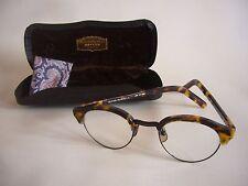 Vintage Oliver Peoples Rx MP-15 DTB/AG Tortoise Eyeglasses, w/ Case & Cloth, Exc