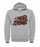 Hoodie Unisex Damen Herren - harley-davidson-logo - XS bis 4XL