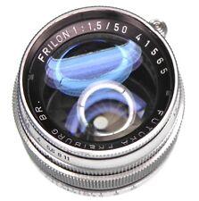 Futura 50mm f1.5 Frilon Leica SM  #41565