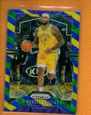 DeMarcus Cousins 2019-20 Panini Prizm Prizms Choice Blue Yellow and Green #103