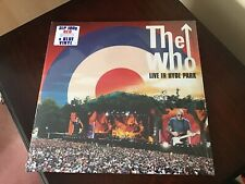 The Who - Live in Hyde Park -LTD 3 x Vinyl LP (Red White Blue) NEW
