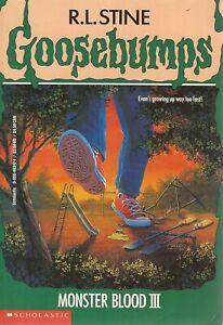 GOOSEBUMPS #29 ~ MONSTER BLOOD III ~ PB 1995 USA - 1st Edition - Unread: VGC