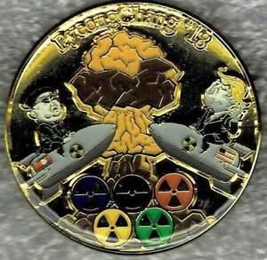 Unique 2018 PyeongChang USA-North Korea Nuclear Winter Pin