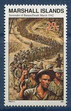 Marshall Islands 1992 World War 2 WW II Scott 305 Bataan Death March W39 NH