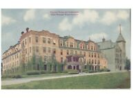 Postcard National House & Gymnasium Elgin National Watch Factory Elgin, Ill.