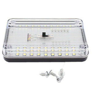 Car Roof Dome Light Ceiling Reading Trunk Lamp 36 LED Auto Interior Night Light