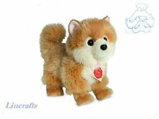 Pomeranian Plush Soft Toy Dog by Teddy Hermann Collection from Lincrafts. 91922
