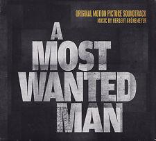 A MOST WANTED MAN - CD - ORIGINAL SOUNDTRACK - Music:Herbert Grönemeyer  ( Neu )