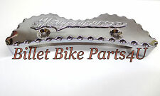 Hayabusa 99-UP 1300 Chrome Scallop Cut Tank Pad L@@K(122006-001AS)