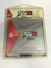 Iomega Zip Drive 250 Disks Unopened Pack of 4 New Old Stock PC Format