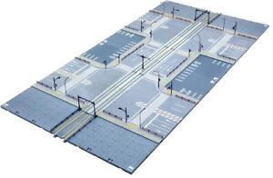 N Scale KATO V53 UNITRAM Street track to Concrete Tie Double Set Item #KAT40-803
