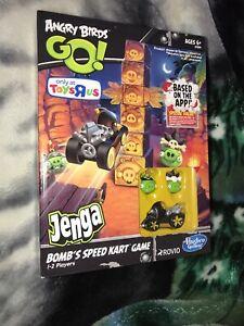 Hasbro Angry Birds GO Star Wars Jenga BOMB's SPEED KART GAME 6+
