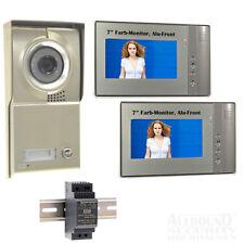 """Video Türsprechanlage Gegensprechanlage Sprechanlage 1 Familienhaus 7"""" DVR LCD H"""