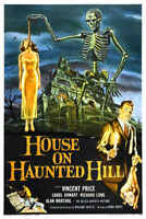 1959 HOUSE ON HAUNTED HILL VINTAGE MOVIE POSTER PRINT STYLE B 18x24 9 MIL PAPER