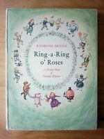 1962 FIRST EDITION of RING A RING O ROSES by RAYMOND BRIGGS (THE SNOWMAN) FIRST