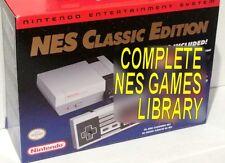 Genuine NES Classic Edition + All US Games & Tecmo Super Bowl 2019 MODDED MOD