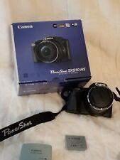 Canon PowerShot SX510 HS 12.1MP Digital Camera - Black (Kit w/ 24-720 mm Lens)